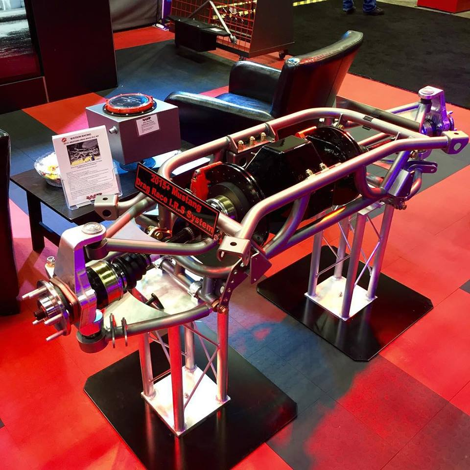 S550 Mustang IRS display at PRI 2015