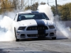 Mustang Twin Turbo Burnout
