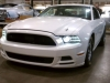 White 2015 Mustang S550 closeup