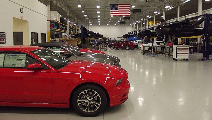 Watson Racing Shop - Mustang racing parts