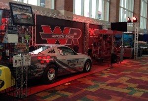 Watson Racing set up at 2013 Performance Racing Industry Trade Show