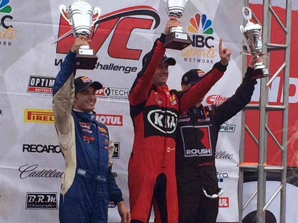 Alec Udell podium