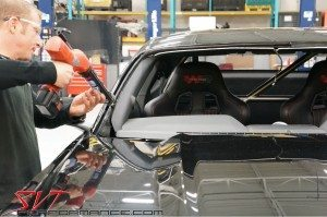 2015 Mustang Racing Windows