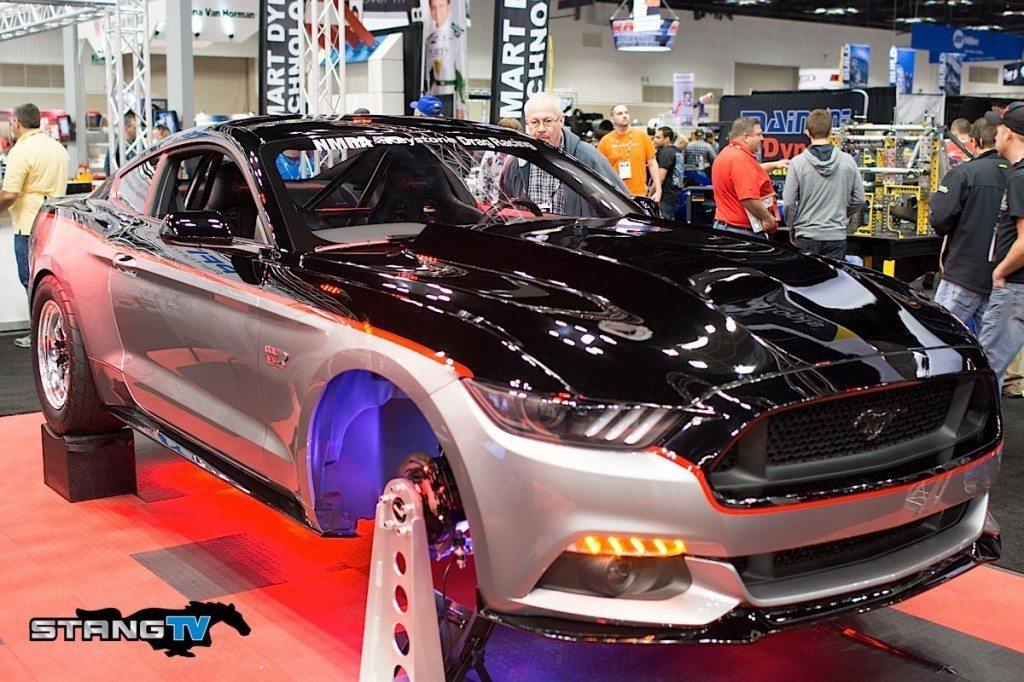 2015 Mustangs at PRI