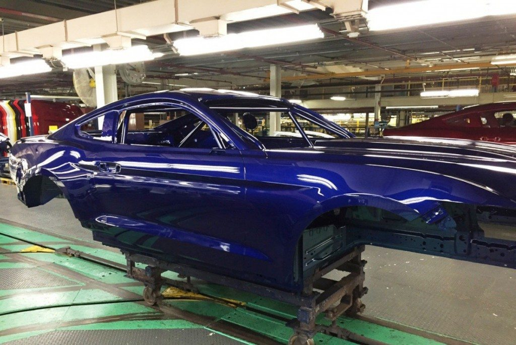 2016 Cobra Jet Build flat rock paint line