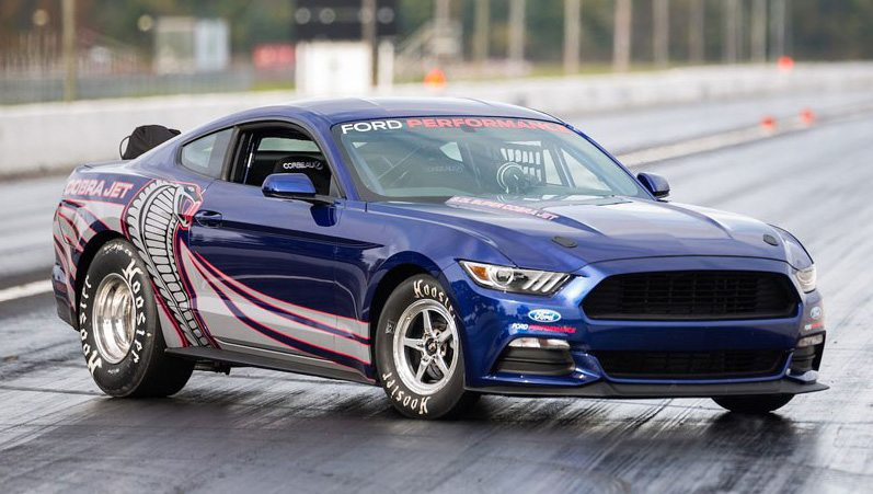 2016 Cobra Jet - at the dragstrip